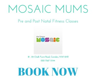 PRE AND POST NATAL CLASSES AT THE FITNESS MOSAIC
