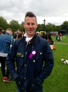 PUPAID SUPPORTER TIM VINCENT