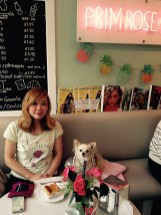 CHANEL AND ANNA AT THE PRIMROSE BAKERY