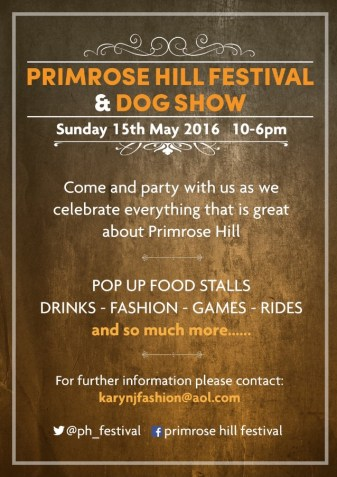 PRIMROSE HILL FESTIVAL AND DOG SHOW