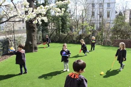 OUTDOOR ACTIVITY AT ST MARK'S HALL