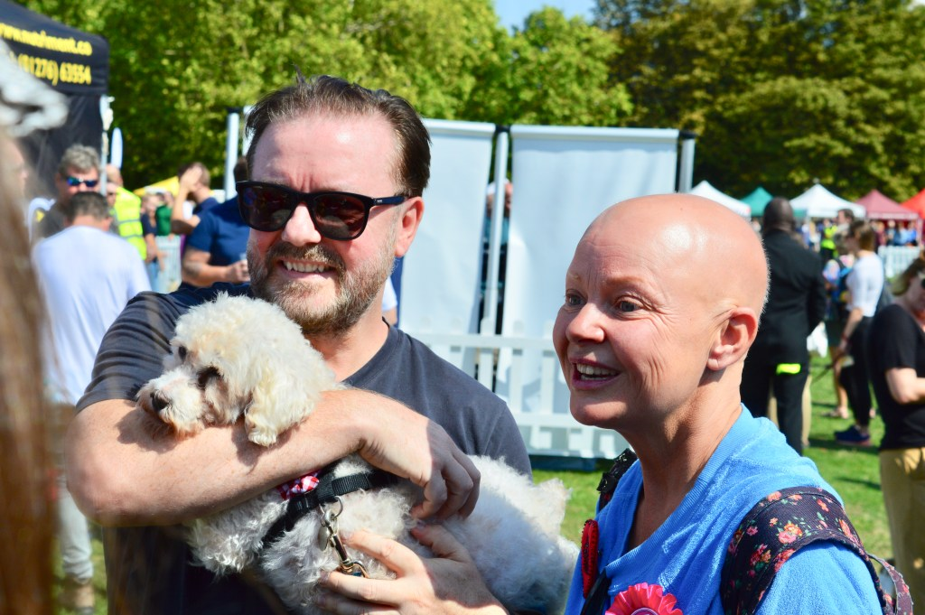 RICKY GERVAIS AND GAIL PORTER