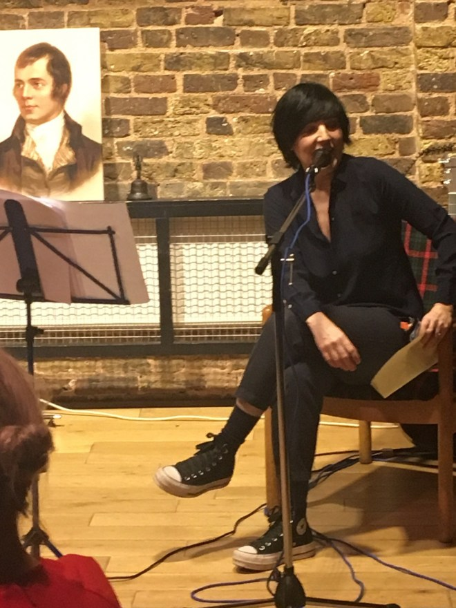 SHARLEEN SPITERI READS A WINTERS NIGHT BY ROBBIE BURNS