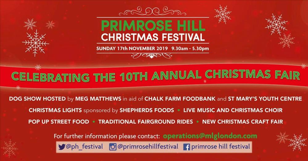 PRIMROSE HILL CHRISTMAS FESTIVAL 2019
