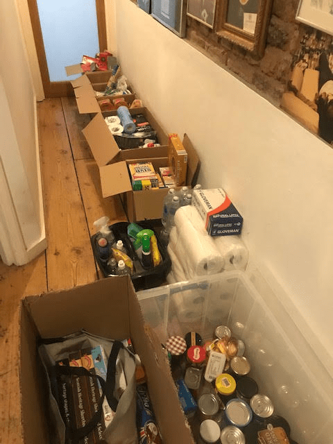DONATIONS FOR OUR FRIENDS AND NEIGHBOURS AT THE OLDFIELD ESTATE