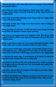 Easter good wishes messages