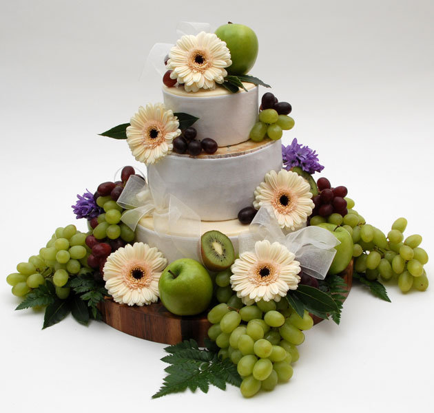 cheese wedding cake