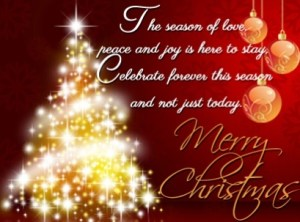 Merry Christmas Greetings Messages