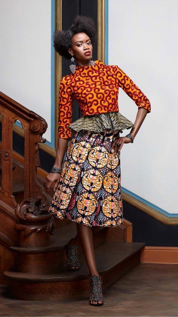 Vlisco Ankara Fashion Design