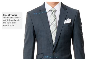 tie width guide