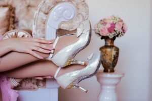 bridal shoe heels