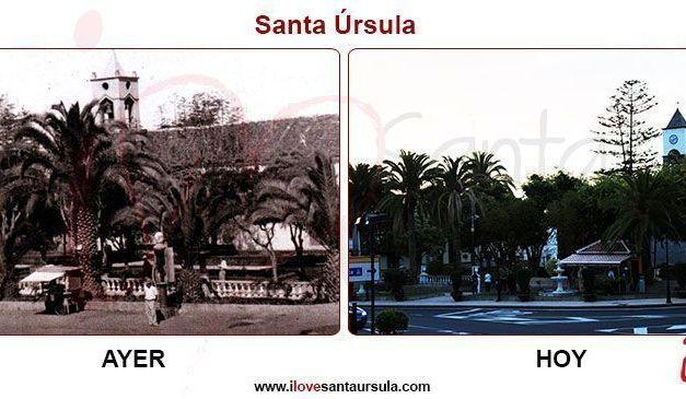 Plaza de Santa Úrsula. Ayer y Hoy