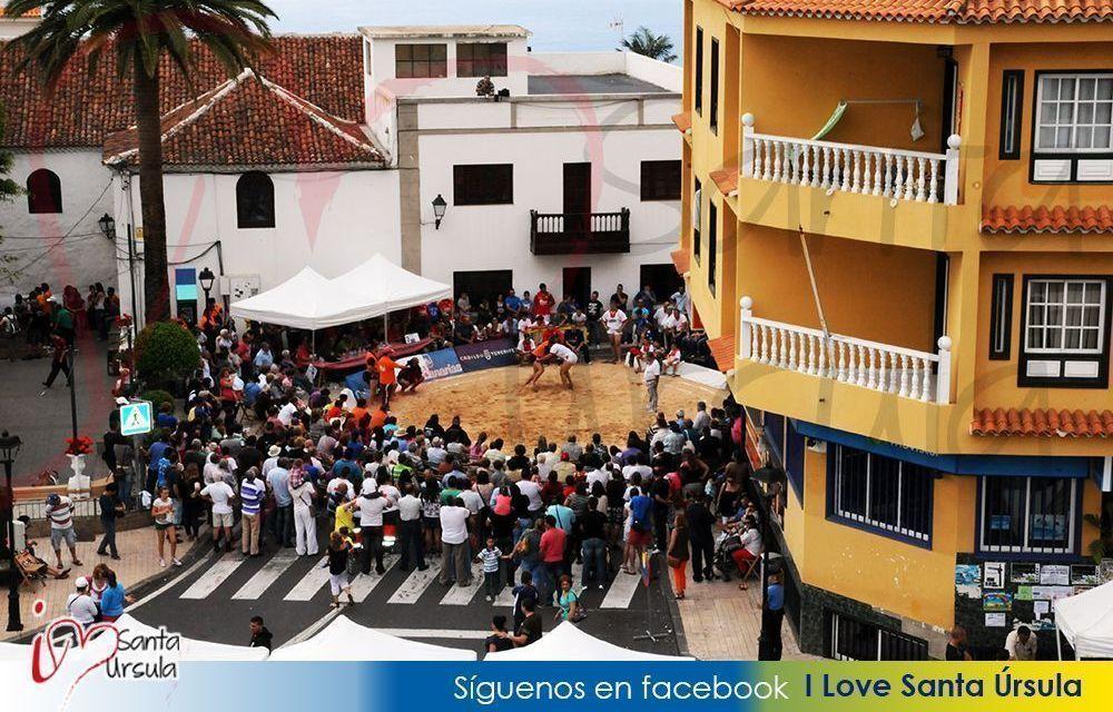 Santa Úrsula en el Día de Canarias