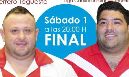 Club de Lucha Tijarafe en la Final contra el Club de Lucha Rosario