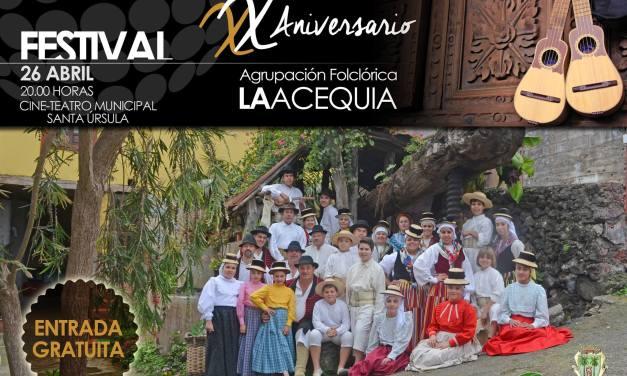 XX Aniversario del Grupo Folclórico La Acequia
