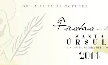 Don Isidro González Afonso pregonero de las Fiestas
