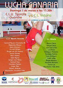 Liga Insular Club de Lucha Tijarafe - Club de Lucha Victoria
