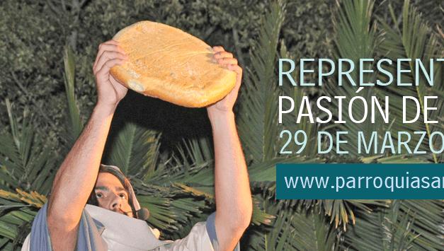 Representación de la Pasión de Cristo