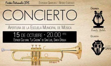 Concierto Apertura de la Escuela Municipal de Música de la A.M.C. «Ernesto Beteta»