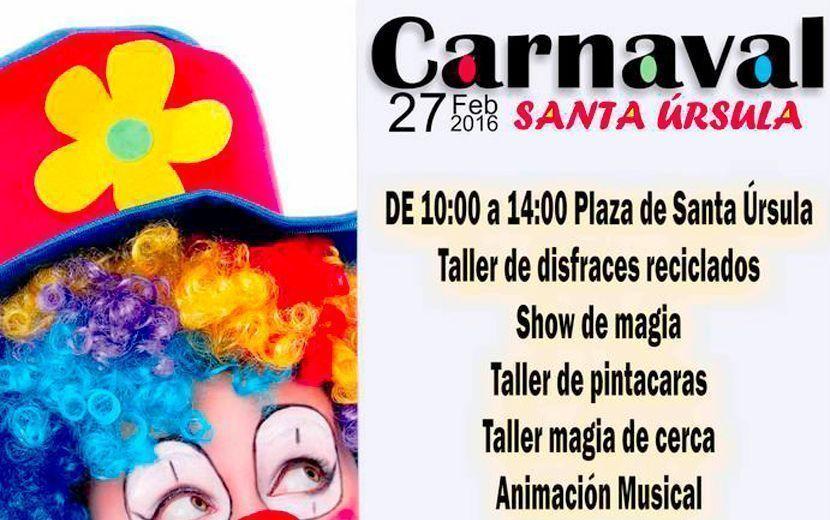 Carnaval Santa ursula