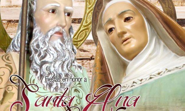 Programa de Fiestas en Honor a Santa Ana y San Joaquín en Santa Úrsula