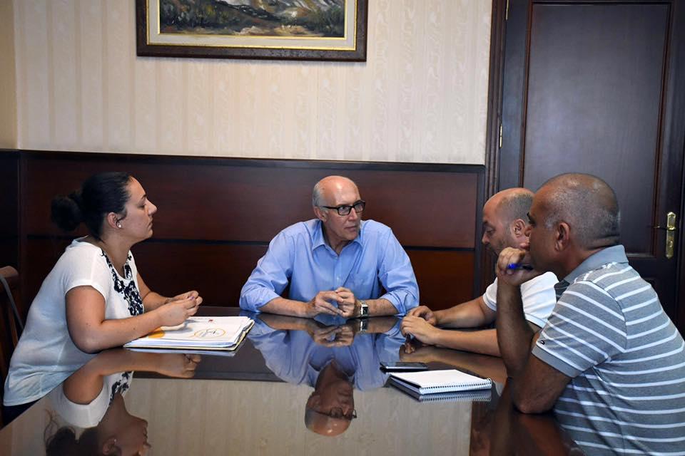 Reunión para la promoción gastronómica en Santa Úrsula