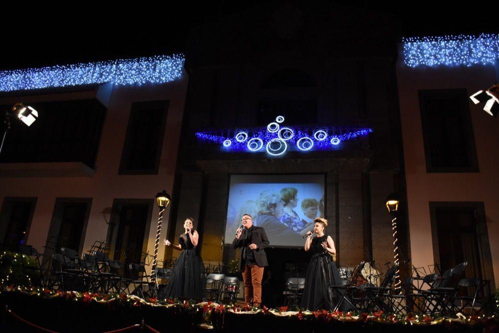 Encendido luces navidad Santa ursula