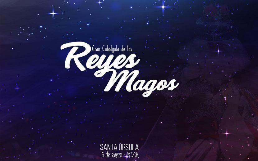 Cabalgata Reyes Magos Santa Úrsula