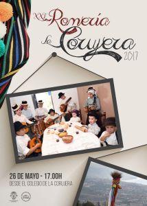 Cartel de la XXI Romería de La Corujera 2017