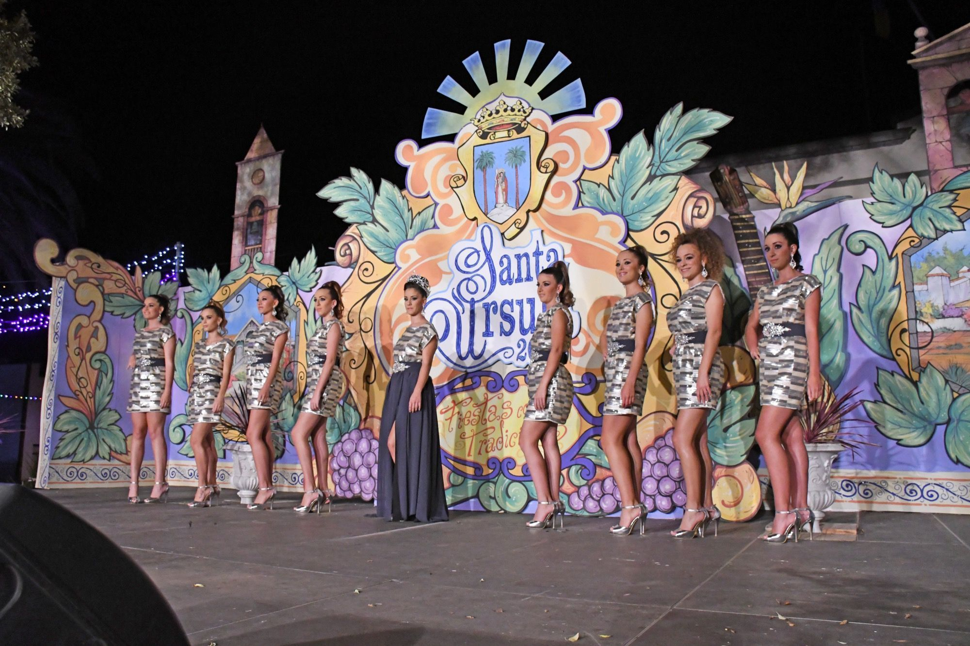 Candidatas a Reina de las Fiestas en Honor a Santa Úrsula 2017