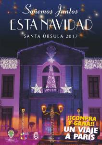 Cartel Navidad Santa Úrsula 2017