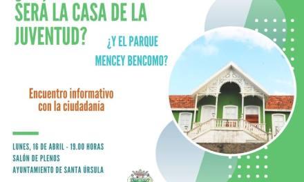 Presentación del Proyecto de la Casa de la Juventud de Santa Úrsula