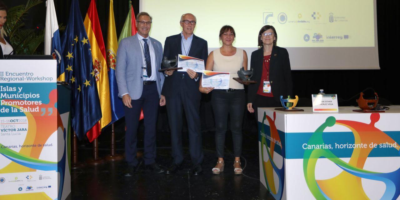 Santa Úrsula recibe el premio Canarias Promueve Salud