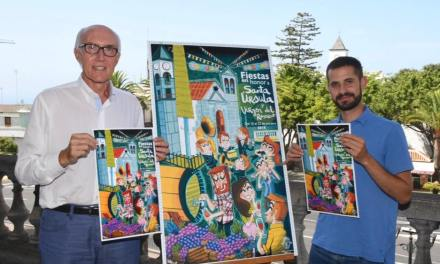 Presentado el Cartel de las Fiestas Patronales de Santa Úrsula 2018