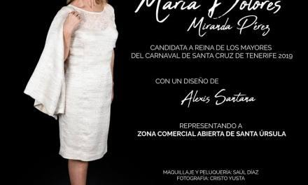 Dolores Miranda representará a la ZCA de Santa Úrsula en el Carnaval de Santa Cruz de Tenerife