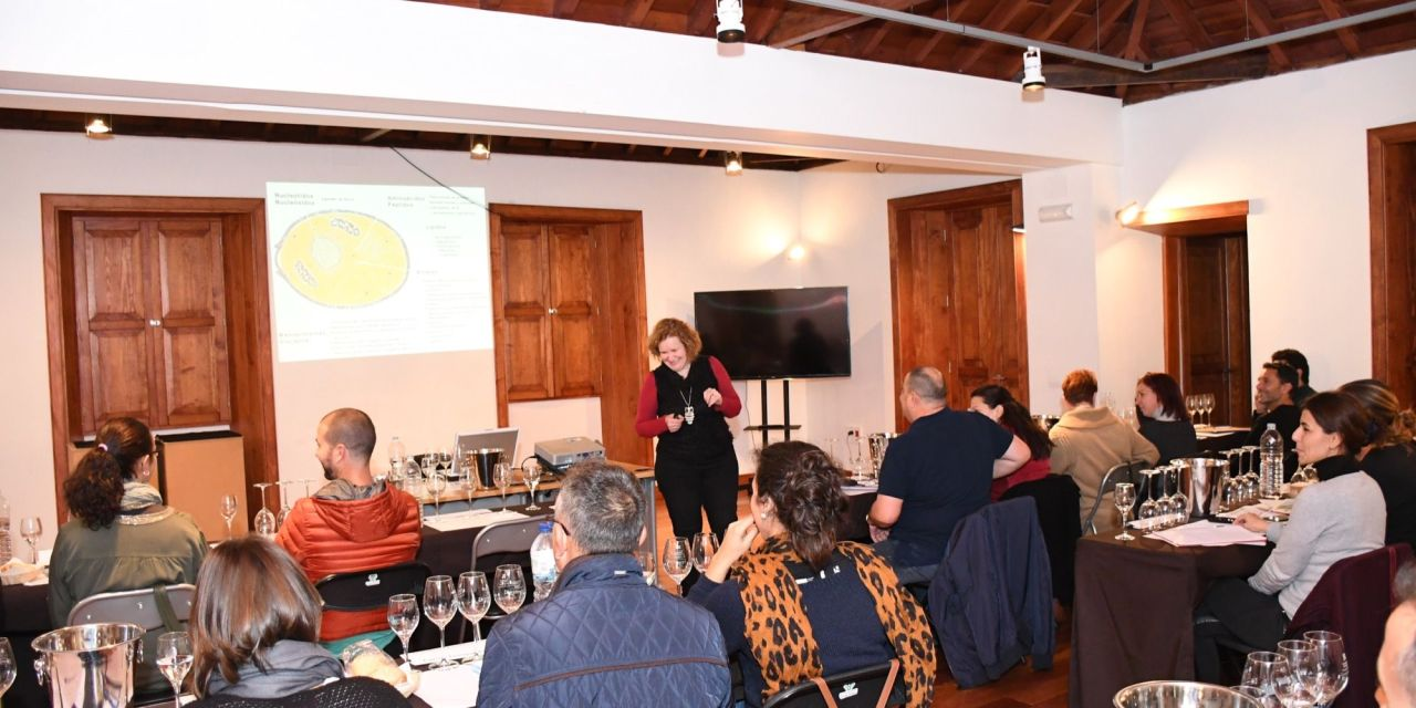 La Casona de San Luis acoge el curso avanzado de análisis sensorial de vinos de la Universidad de La Laguna