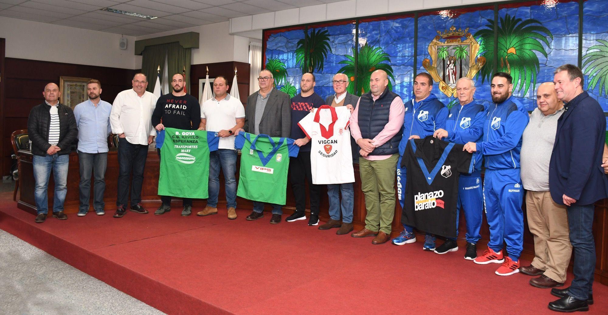 Presentación de la Final de Lucha Canaria en Santa Úrsula