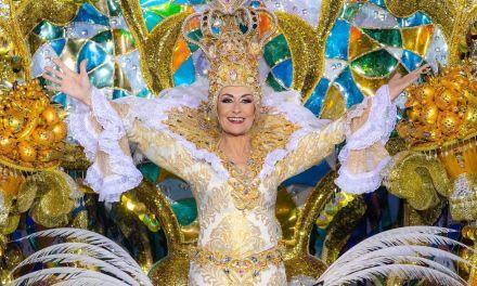 Loli Miranda, Tercera Dama de Honor del Carnaval de Santa Cruz de Tenerife