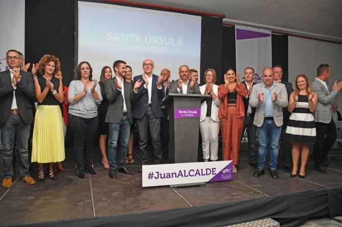 Presentación Equipo Acosta en Santa Úrsula