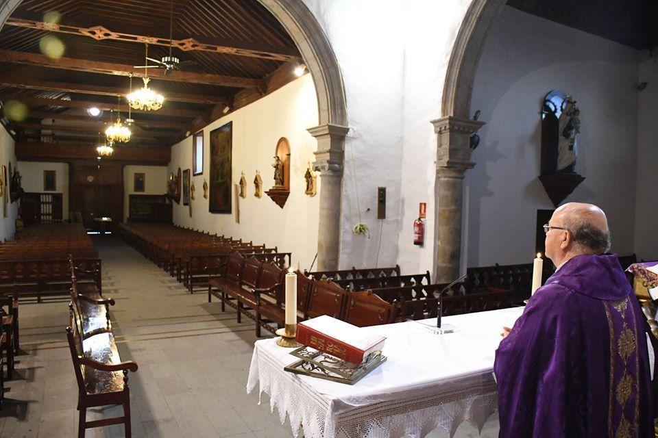 Parroquia de Santa Úrsula en estado de alarma