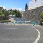 Culminan las obras de rehabilitación del talud junto al principal acceso a Santa Úrsula desde la TF-5