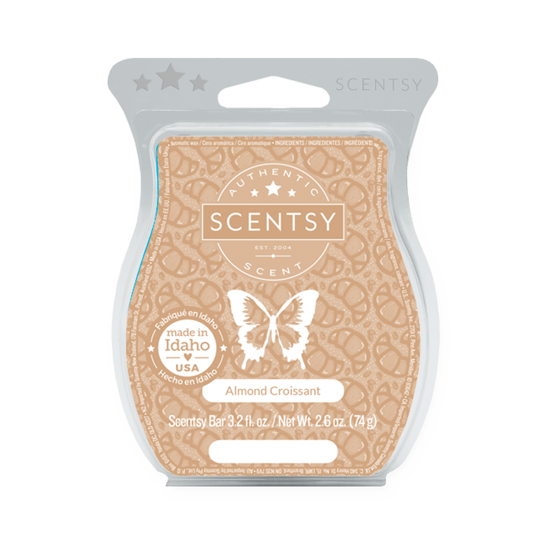 Scentsy Wax Almond Croissant