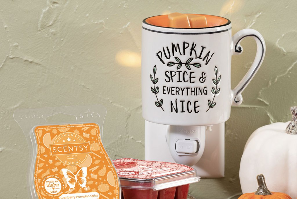 Scentsy Harvest Collection 2021 Warmer