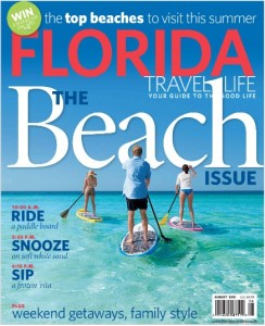 Florida Travel & Life i Love Shelling Cover