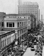 Felix Street in Downtown around 1928