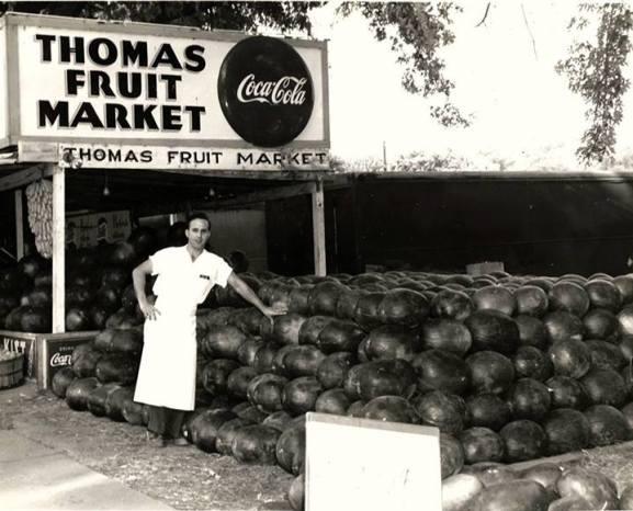 Thomas Market, 3101 St. Joseph Avenue, St. Joseph, MO 64505 - 1954-55