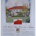 Wyeth Mansion from 1926 House Beautiful ad – St. Joseph Mo