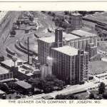 Postcard The Quaker Oats Company in St. Joseph, Missouri