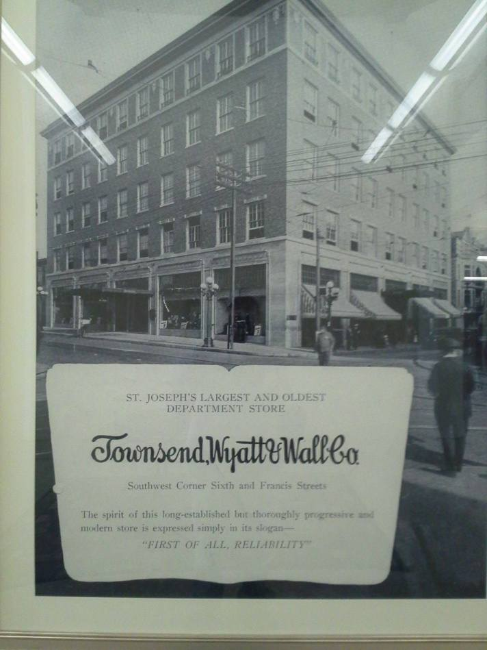 Townsend and Wall Department Store St. Joseph Mo