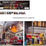 Pioneer Building Fire in St. Joseph Mo. – Coverage Photo
